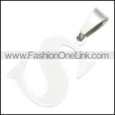 Stainless Steel Pendant p010417