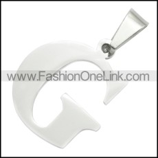 Stainless Steel Pendant p010400