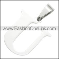 Stainless Steel Pendant p010414
