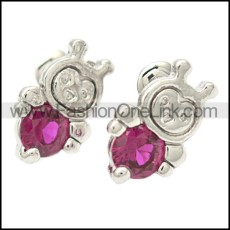 Stainless Steel Earring e002077