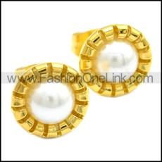 Stainless Steel Earring e002092