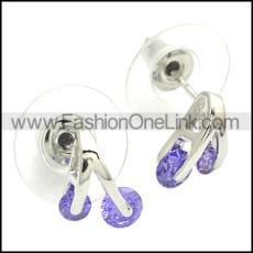 Stainless Steel Earring e002080