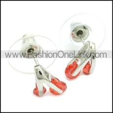 Stainless Steel Earring e002084