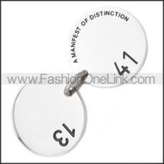 Stainless Steel Pendant p010468S