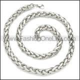 Stainless Steel Chain Neckalce n003084SW8