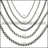 Stainless Steel Chain Neckalce n003083SHW4