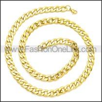 Stainless Steel Chain Neckalce n003091GW7