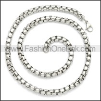 Stainless Steel Chain Neckalce n003083SW5