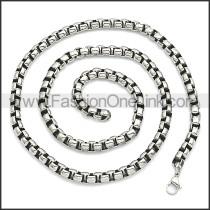Stainless Steel Chain Neckalce n003089SHW7