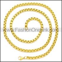 Stainless Steel Chain Neckalce n003089GW5