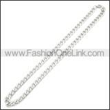 Stainless Steel Chain Neckalce n003085SW7