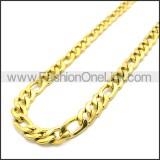 Stainless Steel Chain Neckalce n003087GW10