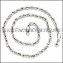 Stainless Steel Chain Neckalce n003086SW3