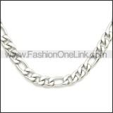 Stainless Steel Chain Neckalce n003087SW8