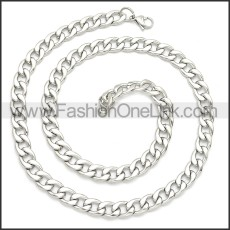 Stainless Steel Chain Neckalce n003091SW3