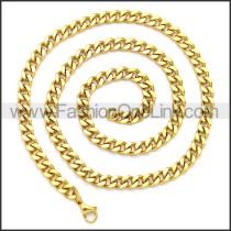 Stainless Steel Chain Neckalce n003116G