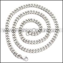 Stainless Steel Chain Neckalce n003119S