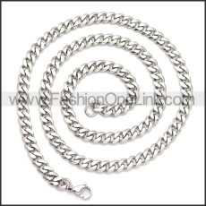 Stainless Steel Chain Neckalce n003119S
