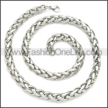 Stainless Steel Chain Neckalce n003094SW5