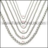 Stainless Steel Chain Neckalce n003095SW8