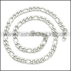 Stainless Steel Chain Neckalce n003093SW4