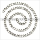 Stainless Steel Chain Neckalce n003114S