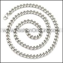 Stainless Steel Chain Neckalce n003115S