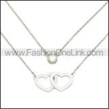 Stainless Steel Chain Neckalce n003111S