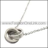 Stainless Steel Chain Neckalce n003113S