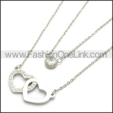 Stainless Steel Chain Neckalce n003111S