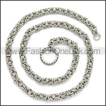 Stainless Steel Chain Neckalce n003109S