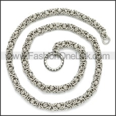 Stainless Steel Chain Neckalce n003108S
