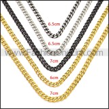 Stainless Steel Chain Neckalce n003118S