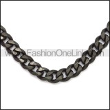 Stainless Steel Chain Neckalce n003118H