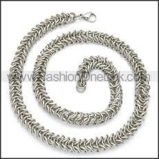 Stainless Steel Chain Neckalce n003098S