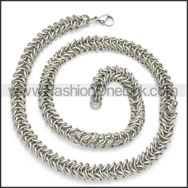 Stainless Steel Chain Neckalce n003100S