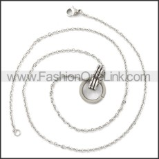 Stainless Steel Chain Neckalce n003113S