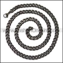 Stainless Steel Chain Neckalce n003118H