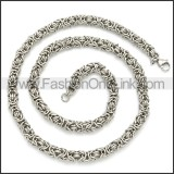 Stainless Steel Chain Neckalce n003106S