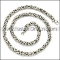 Stainless Steel Chain Neckalce n003106S