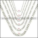 Stainless Steel Chain Neckalce n003093SW4
