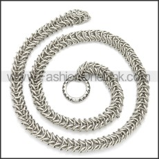 Stainless Steel Chain Neckalce n003103S
