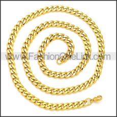 Stainless Steel Chain Neckalce n003118G2