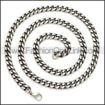 Stainless Steel Chain Neckalce n003119SH