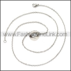 Stainless Steel Chain Neckalce n003112S