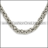 Stainless Steel Chain Neckalce n003109S