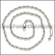 Stainless Steel Chain Neckalce n003096SW3
