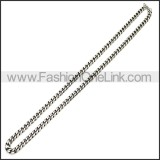 Stainless Steel Chain Neckalce n003119SH