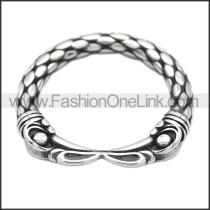 Stainless Steel Ring r008498SH