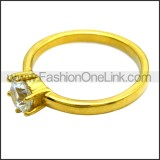 Stainless Steel Ring r008462G
